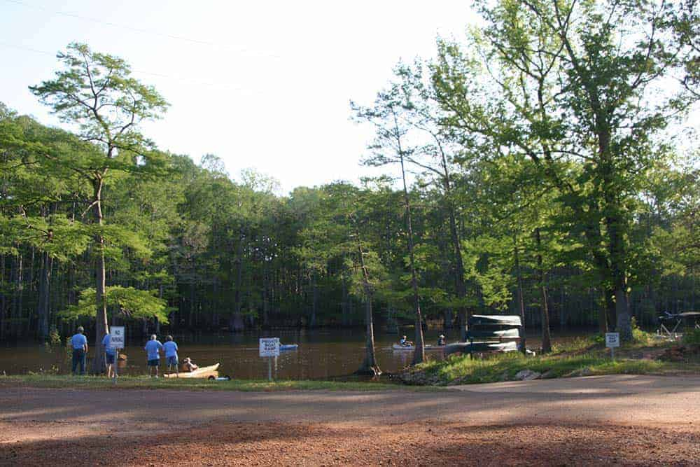 BackWater-Jacks-RV-Campgrounds-Lakefront-rentals-caddo-lake